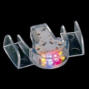 12 Flashing light up mouthpieces Party favors